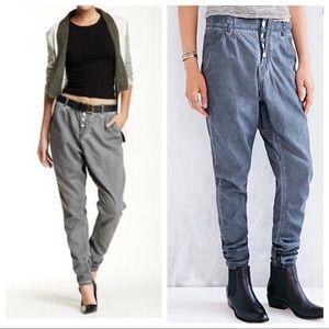 One Teaspoon Super Tough Pants Sz 24 Gray